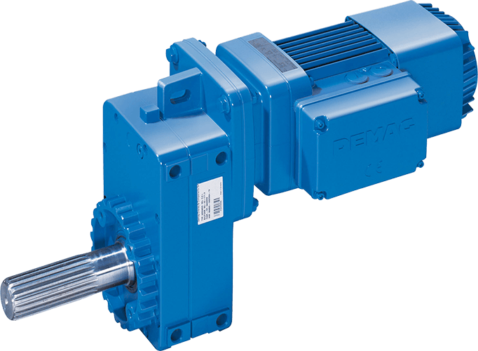 Offset geared motors