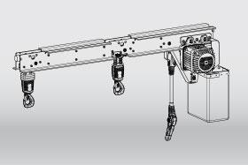 KLDC-D double chain hoist
