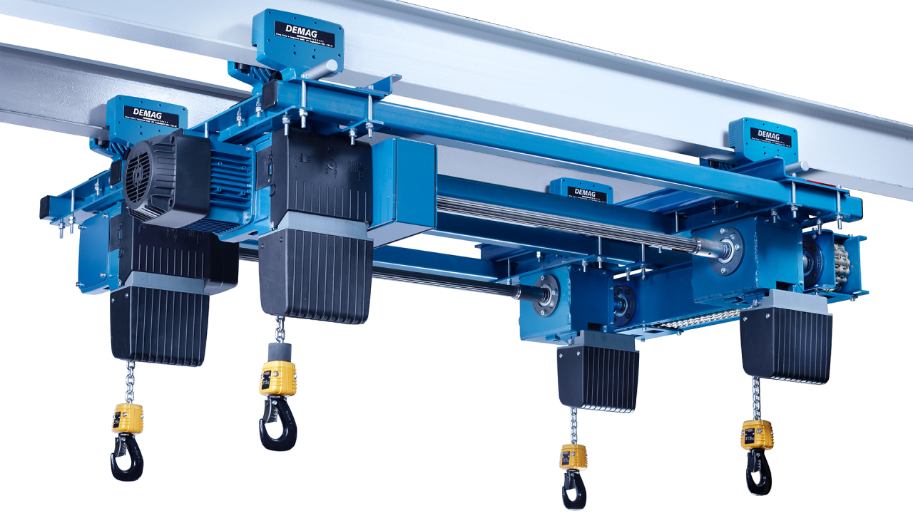 Dc Com Chain Hoist Demagcranes 20 Ton Demag Wiring Diagram Kbk Double Girder