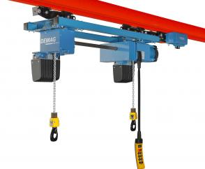 LDC-D double chain hoist with connecting shaft
