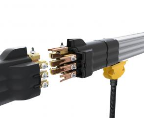 High operating reliability and fast installation thanks to patented connectors