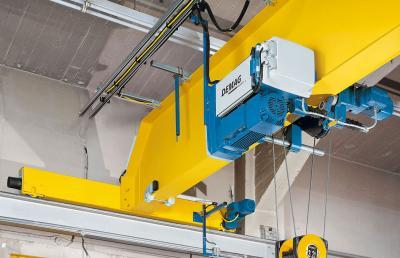 Modular and versatile the new demag dmr rope hoist - Terex material handling port solutions ag ...