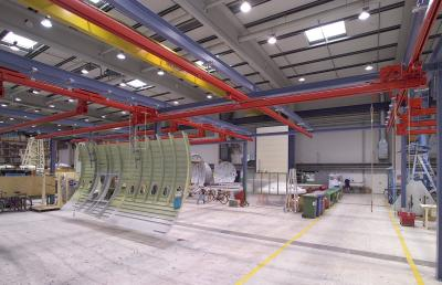 KBK single-girder suspension cranes
