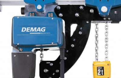 KDC low-headroom hoist main media