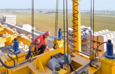 Makeover for two overhead travelling cranes demagcranes - Terex material handling port solutions ag ...