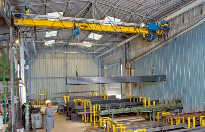 EPDE single-girder suspension cranes up to 6.3 tonnes