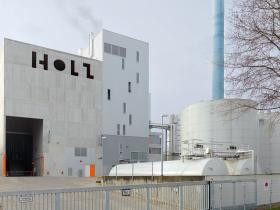 Wood-fired cogeneration power station in HH-Lohbrügge